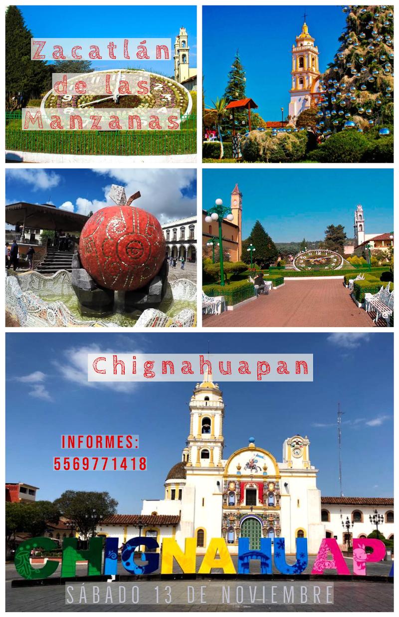 Zacatlán y Chignahuapan