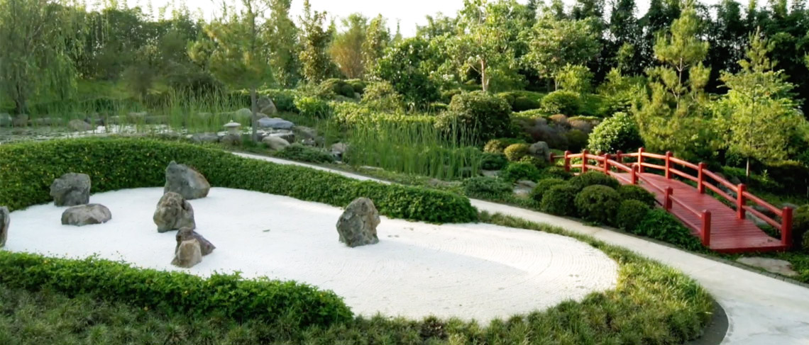 Jardin de flores estilo japones pictures to pin on for Plantas jardin japones